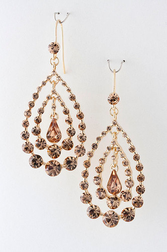 Devine Jeweled Teardrops Topaz
