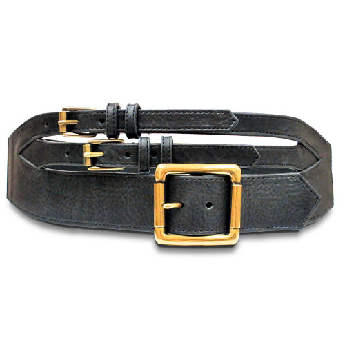 Triple Buckle Stretch Contour Belt