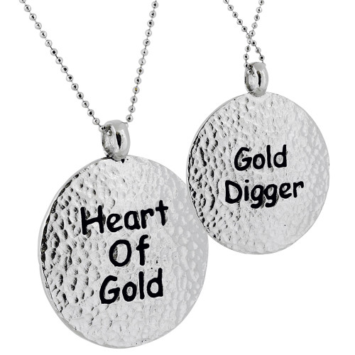 Heart of Gold/ Gold Digger Necklace
