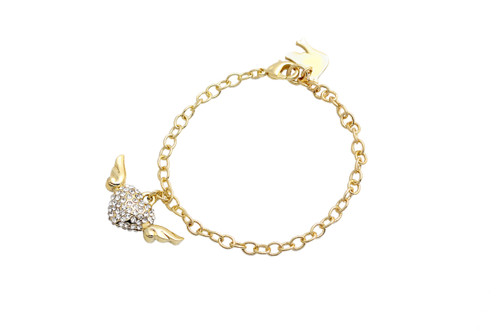 My Heart Has Wings Bracelet