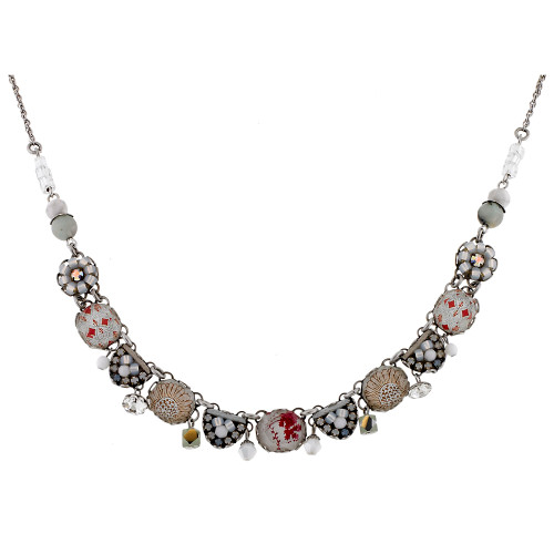 Soft Palette Glass Necklace