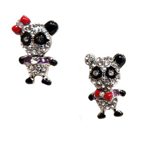 Crystal Panda Couple