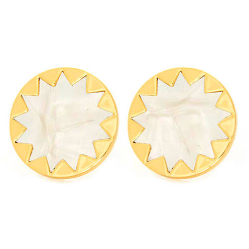 House of Harlow's Pearl Enamel Starbursts