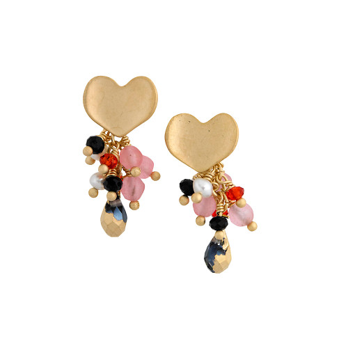 Queen of Hearts Earring