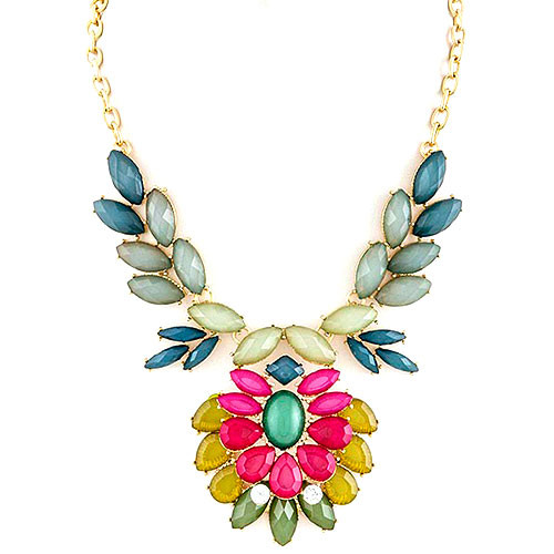 Dahlia Blossom Necklace