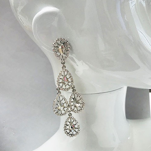 Bring On The Bling Earring Silver