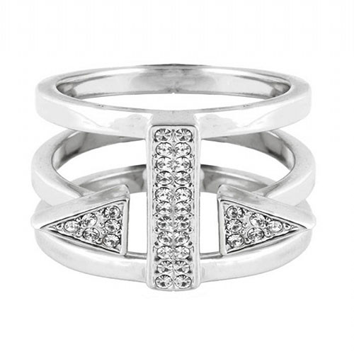 C.C. Skye's Punk Heiress Ring in Silver