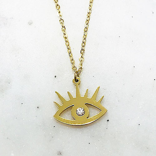 """""""Eye"""" See You Charm Necklace"""