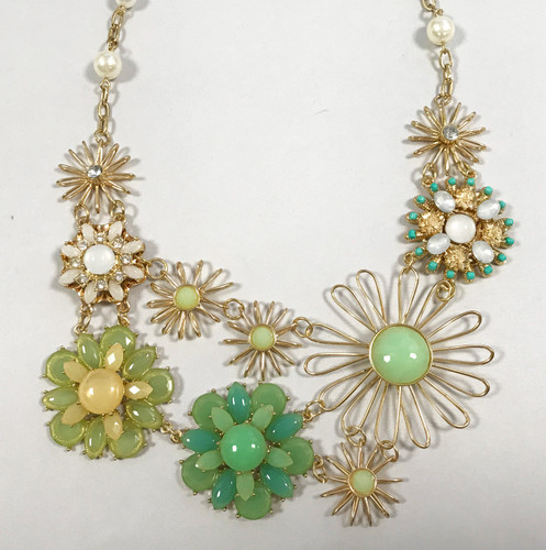 Our Flower Fantasy Garden Necklace