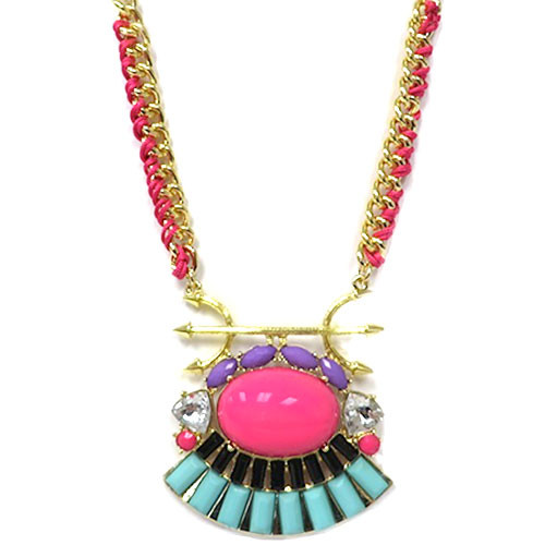 Aztec Queen Pendant Necklace 1