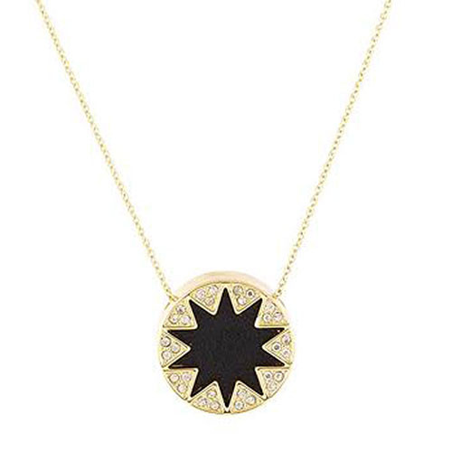 House of Harlow Mini Pave Sunburst-Black