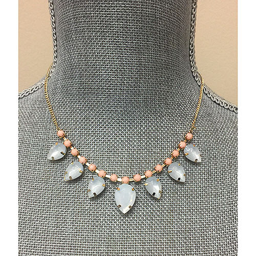 Pale Pink & Pale Blue Simple Statement