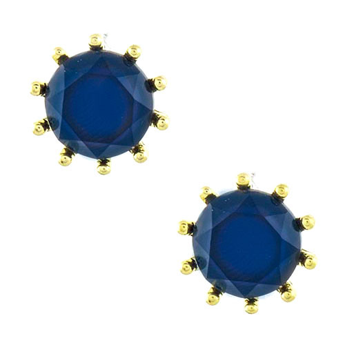 Sailors Navy Blue Stud Earring