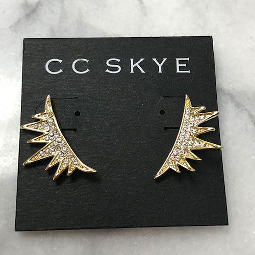 C.C. Skye Eyelash Ear Runners