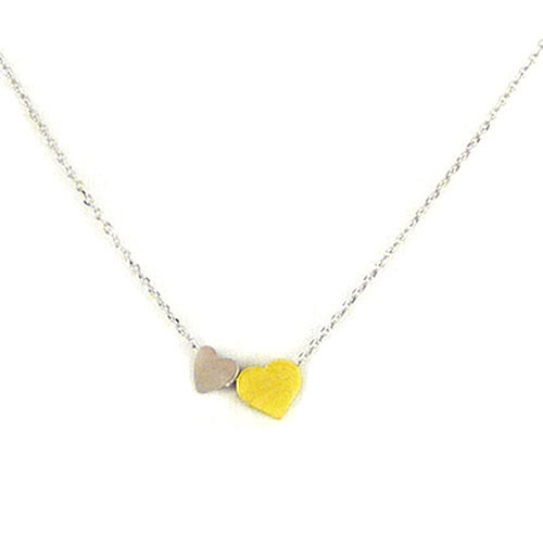 Two-Tone Love Struck Necklace