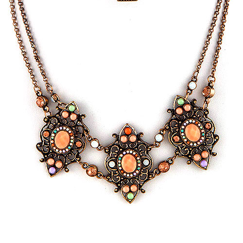 Marrakech Intricate Beadwork Necklace