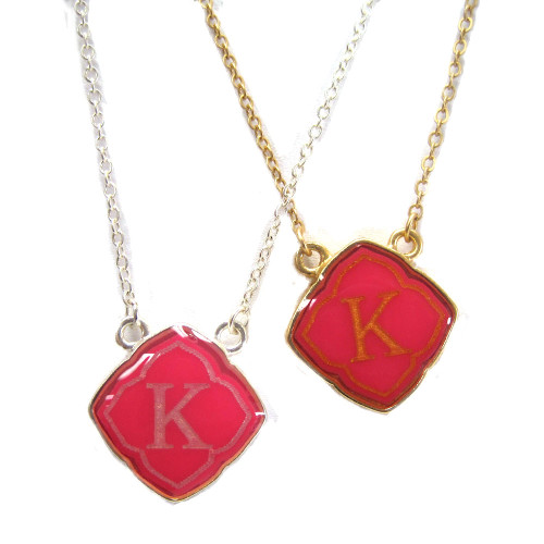 Preppy Little Pink Initials