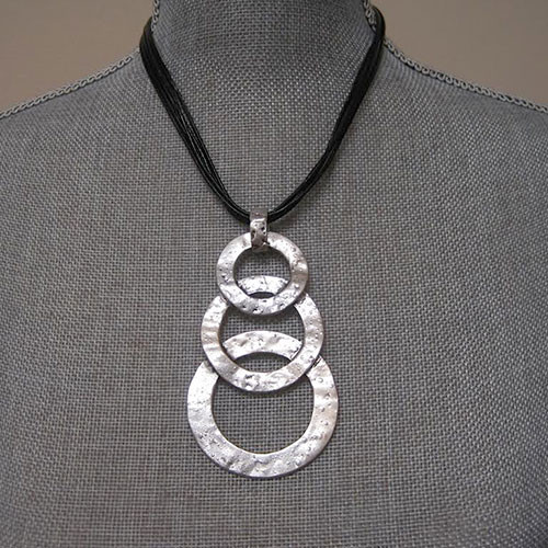 Triple Ring Pendant