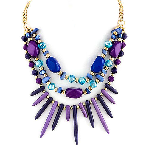 Radiant Orchid Warrior Necklace