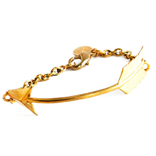 Vintage Curved Arrow Bracelet
