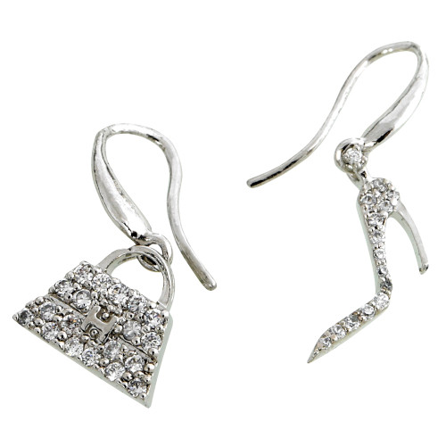 Handbag/Stiletto Earrings