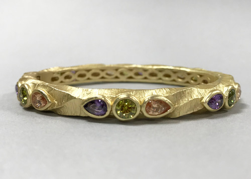 Twisted Byzantine Bangle