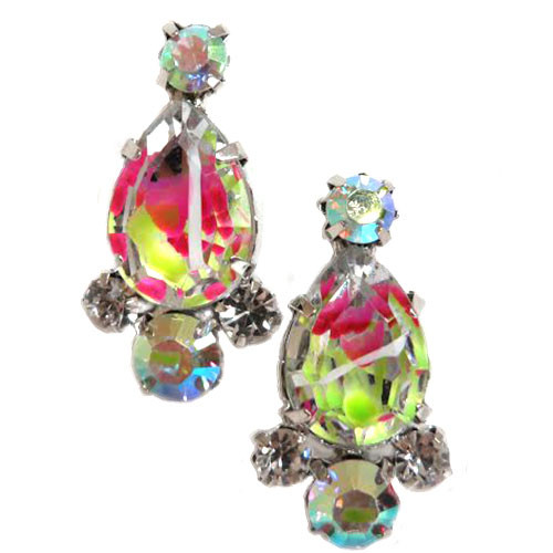 Firecracker Crystal Drop Earring 1