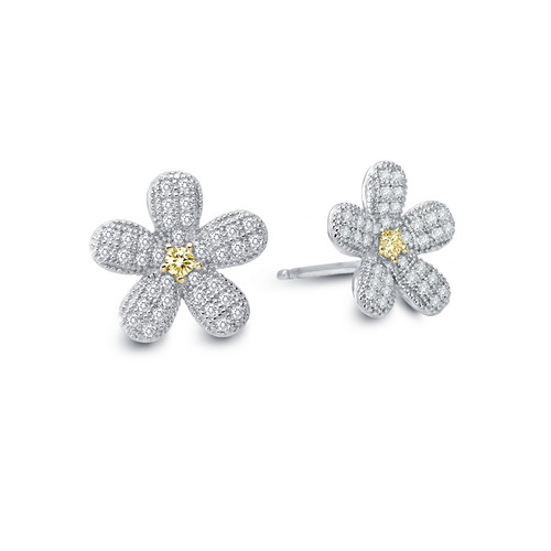 Lafonn's Pave Daisy Earrings