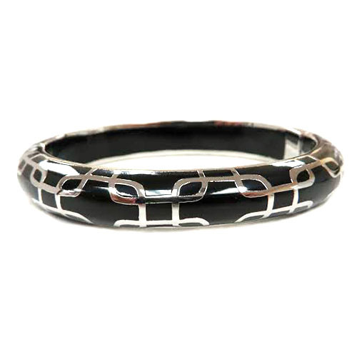AHC's Black and Silver Sailor Bangle
