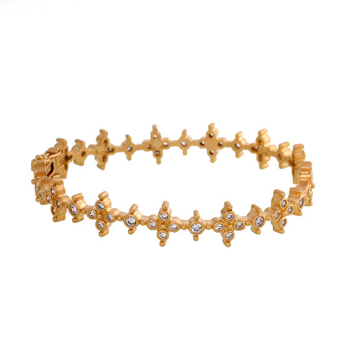 Freida Rothman's Byzantine Bangle in Gold