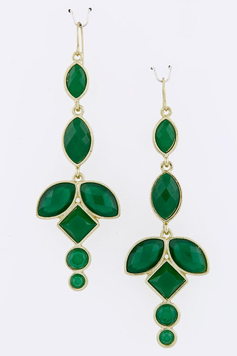 Dreaming in Emerald Earring