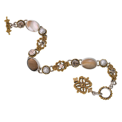 Mars and Valentine's Heirloom Cream Bracelet