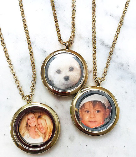 Two Sided Magnetic Locket Necklace