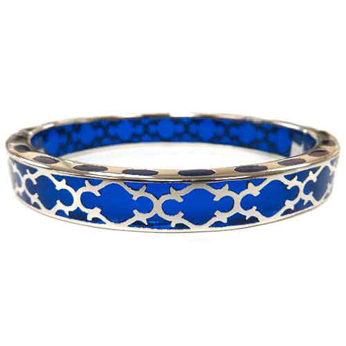 AHC's Blue and Silver Harmony Bangle