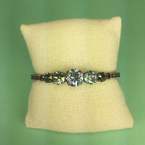 Sorrelli Indian Sapphire & Chrysolite Crystal Cuff
