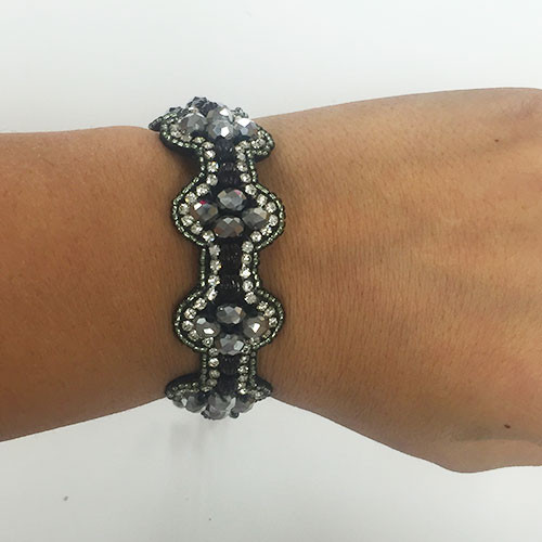 Catrice Hand Stitched Beaded Bracelet