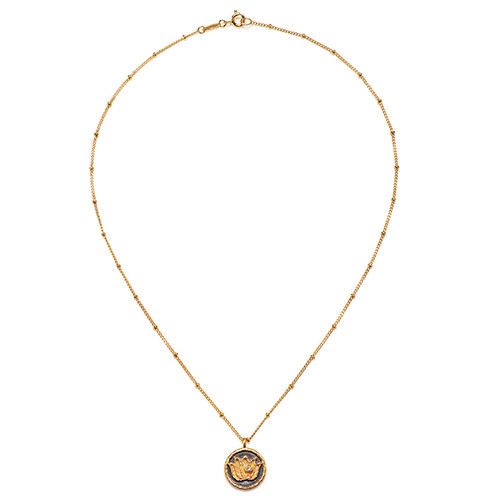 The Sacred Lotus Blossom Necklace