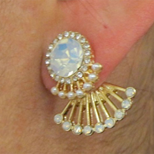 Opal Fan Ear Hugger