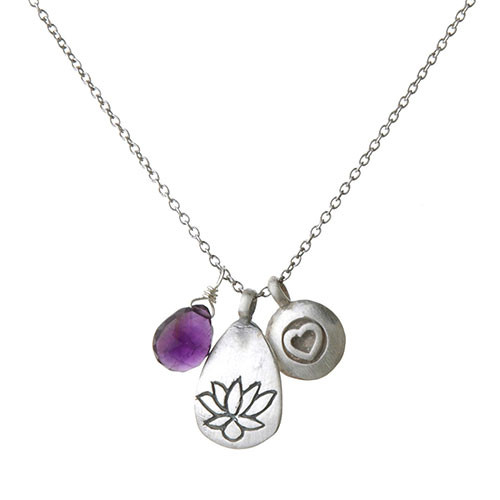 "Triple Charm ""Awaken""å Necklace"