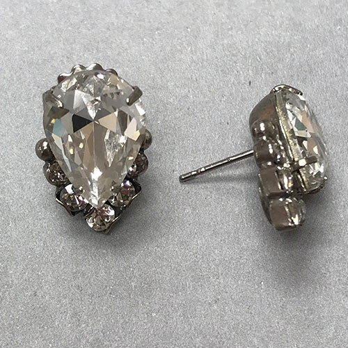Sorrelli's Crystal Cluster Earring in Silver