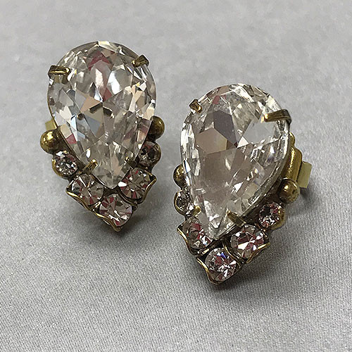 Sorrelli'sCrystal Cluster Earring in Antique Gold