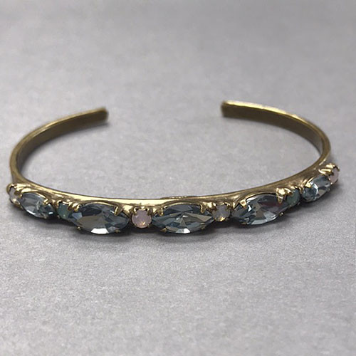 Sorrelli Washed Pastel Crystal Slim Cuff