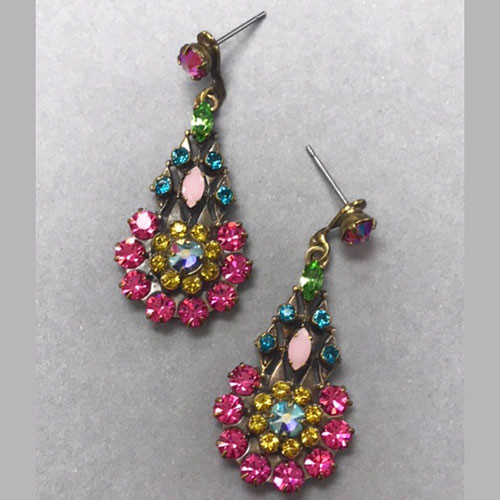 Sorrelli Celebration Bright Crystal Dangle