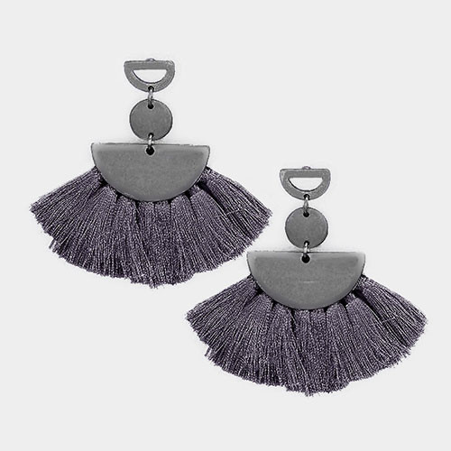 Modern Tassel Fringe Earrings