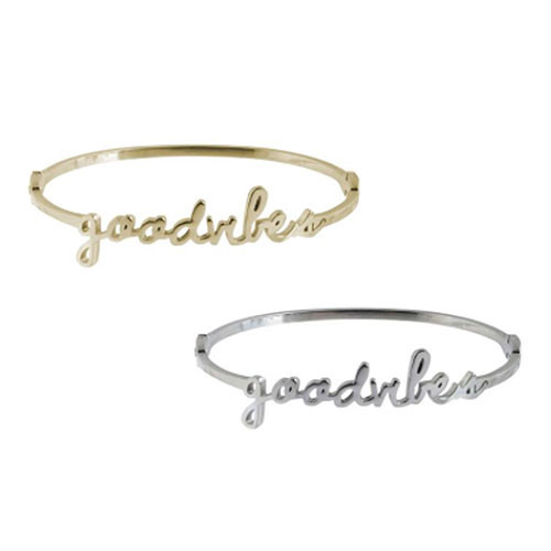 Wanderlust Good Vibes Bangle