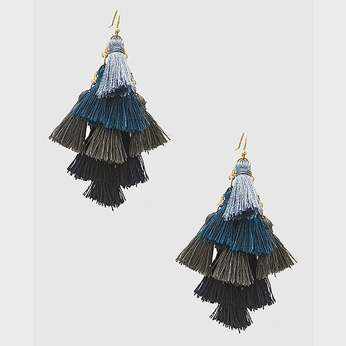 Multi-Tassel Earrings