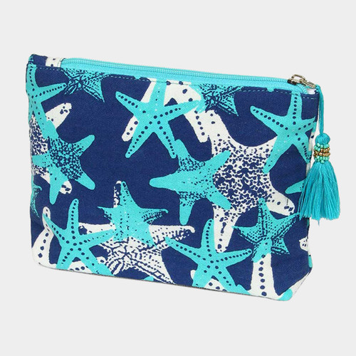 """Perfect Grab & Go"" Star Fish Beach Clutch"