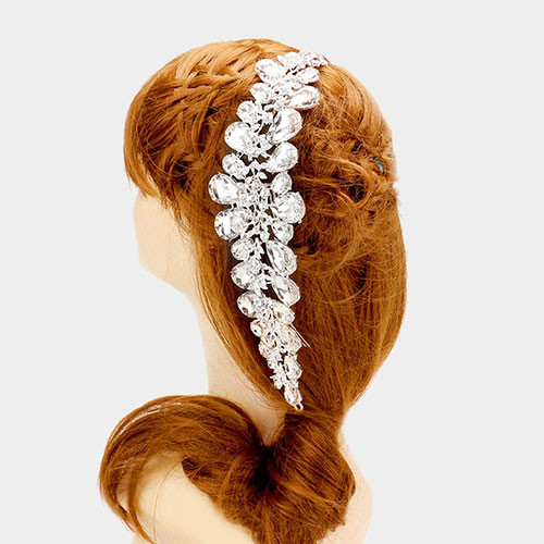 Wedding Day Crystal Hair Vine Comb