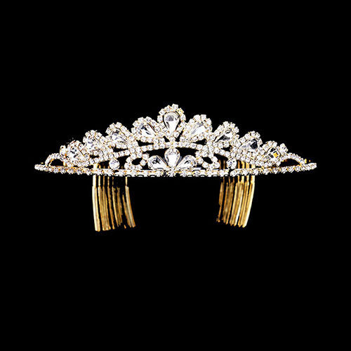 Crystal Teardrop Princess Tiara