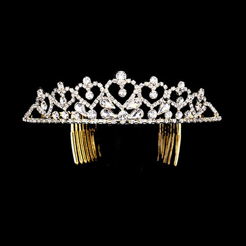 Gold Princess of Hearts Tiara